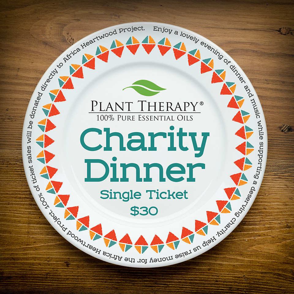 Plant Therapy Charity Dinner Promo
